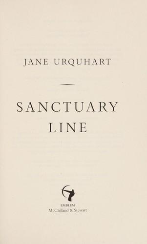 Sanctuary Line _ JANE URQUHART