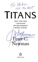 Titans How The New Canadian Establishment Seized Power _ PETER NEWMAN