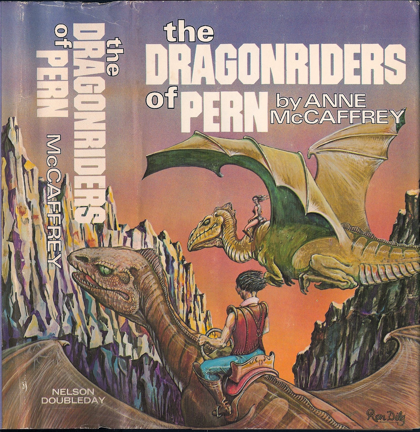 Dragonriders Of Pern _ ANNE MCCAFFREY