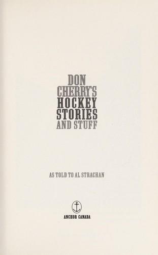 Don Cherrys Hockey Stories And Stuff _ AL STRACHAN