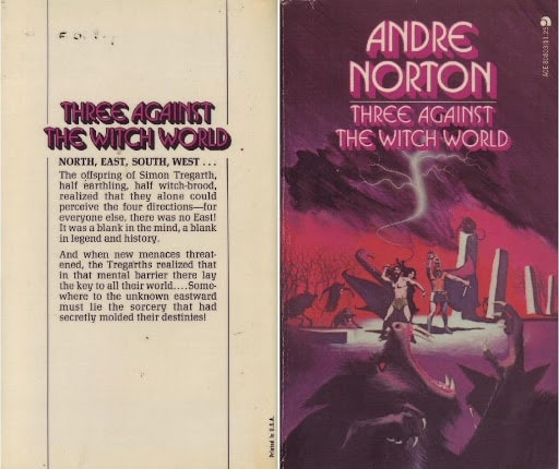 Three Against The Witch World  Book Four Of The Witch World Series _ ANDRE NORTON