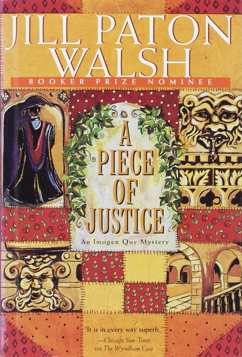 A Piece Of Justice  An Imogen Quy Mystery _ JILL WALSH