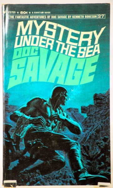 Mystery Under The Sea  The Amazing Adventures Of Doc Savage, Book 27 _ KENNETH ROBESON