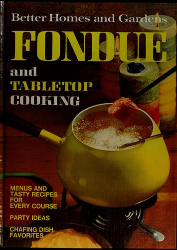 Better Homes And Gardens Fondue And Tabletop Cooking _ VARIOUS