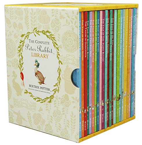 The Complete Peter Rabbit Library Box Set  23 Volumes _ BEATRIX POTTER