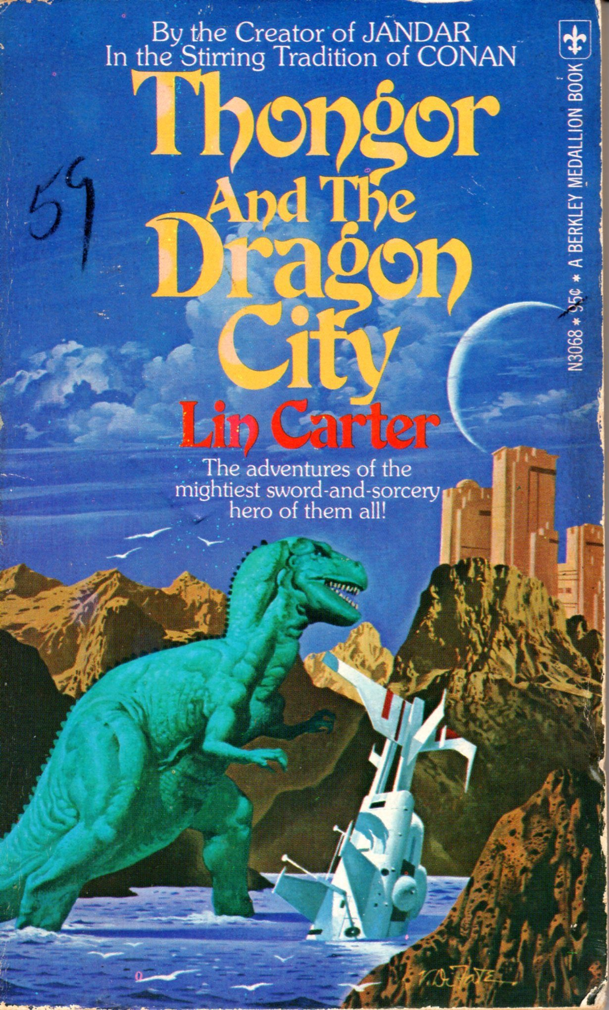 Thongor And The Dragon City _ LIN CARTER