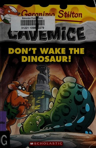 Geronimo Stilton #6 Dont Wake The Dinosaur! _ GERONIMO STILTON