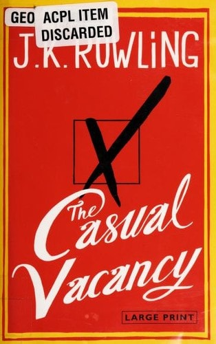 The Casual Vacancy _ J.K. ROWLING