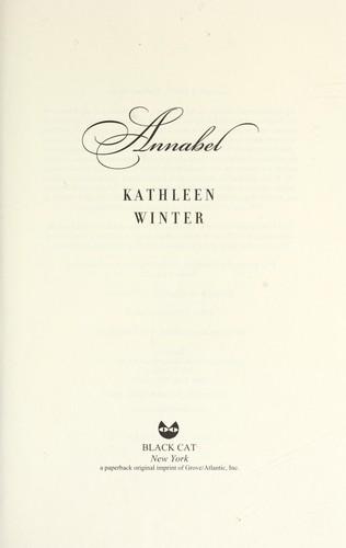 Annabel _ KATHLEEN WINTER