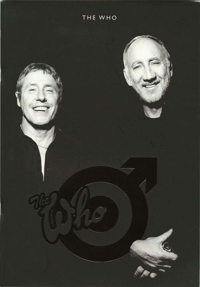 The Who  Concert Program _ THE WHO