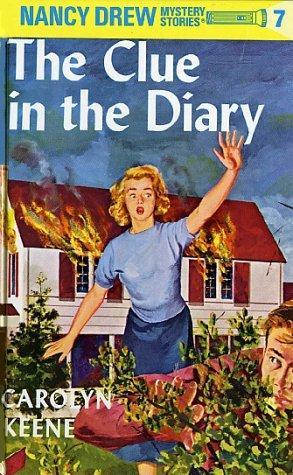 Nancy Drew Mystery Stories #7 The Clue In The Diary _ CAROLYN KEENE
