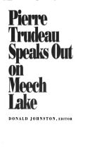 Pierre Trudeau Speaks Out On Meech Lake _ DONALD JOHNSTON