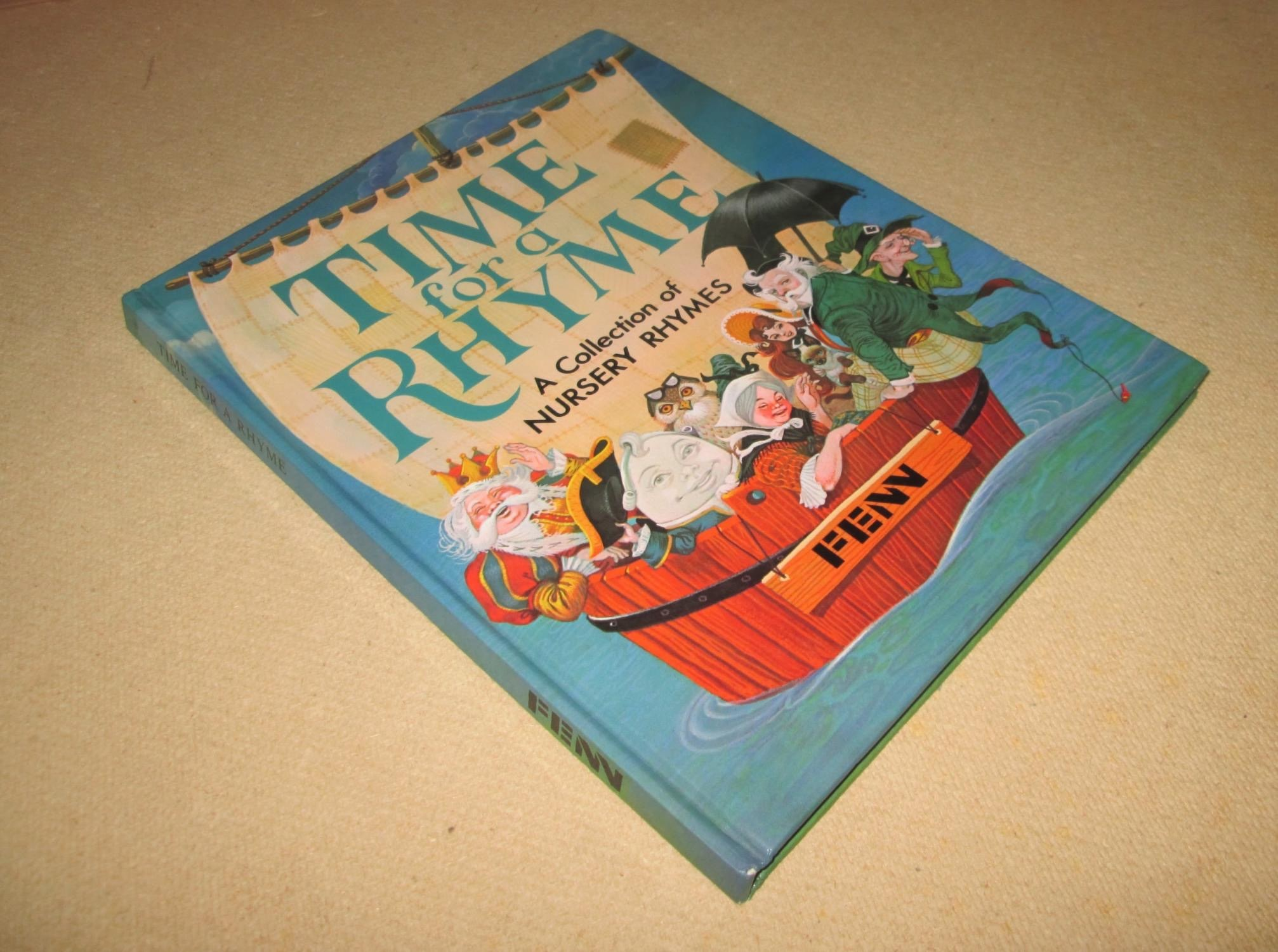 Time For A Rhyme A Collection Of Nursery Rhymes _ LUCY KINCAID