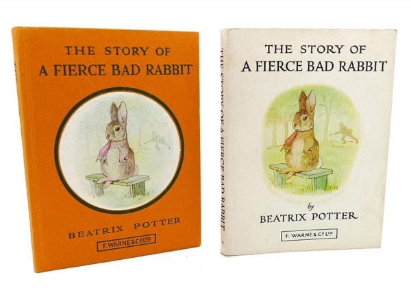 The Story Of A Fierce Bad Rabbit  Peter Rabbit, Book 20 _ BEATRIX POTTER