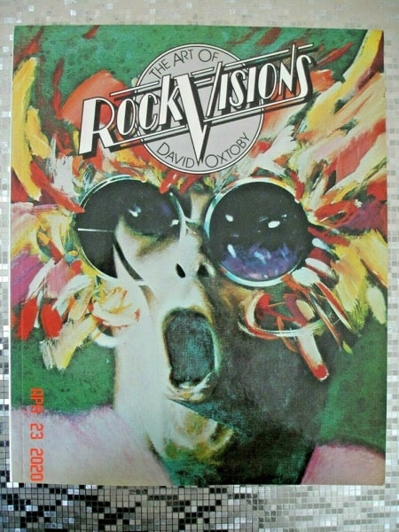 The Art Of Rock Visions _ DAVID OXTOBY