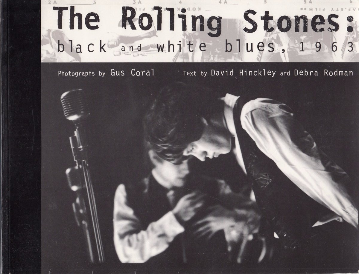 The Rolling Stones Black And White Blues, 1963 _ RODMAN HINCKLEY