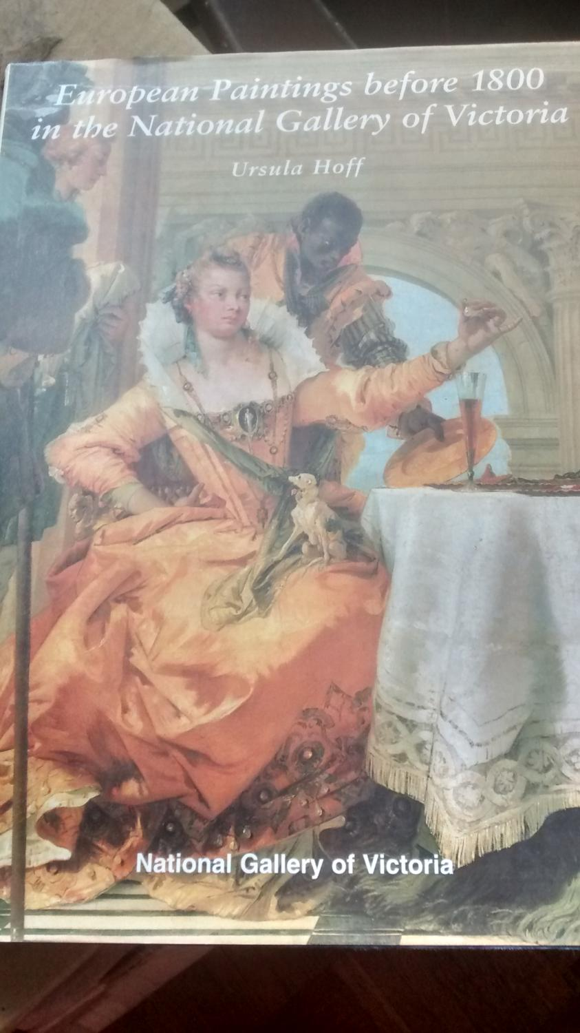 European Paintings Before 1800 In The National Gallery Of Victoria _ URSULA HOFF