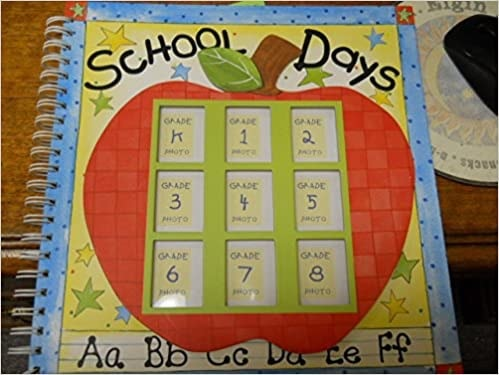 Schooldays Memory Book Record Book _