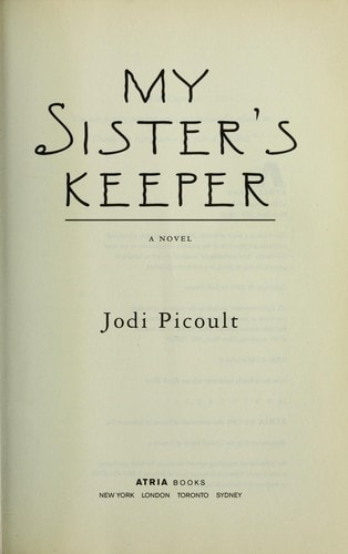 My Sisters Keeper _ JODI PICOULT