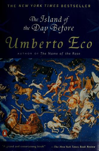 The Island Of The Day Before _ UMBERTO ECO