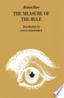 Measure Of The Rule, The _ ROBERT BARR