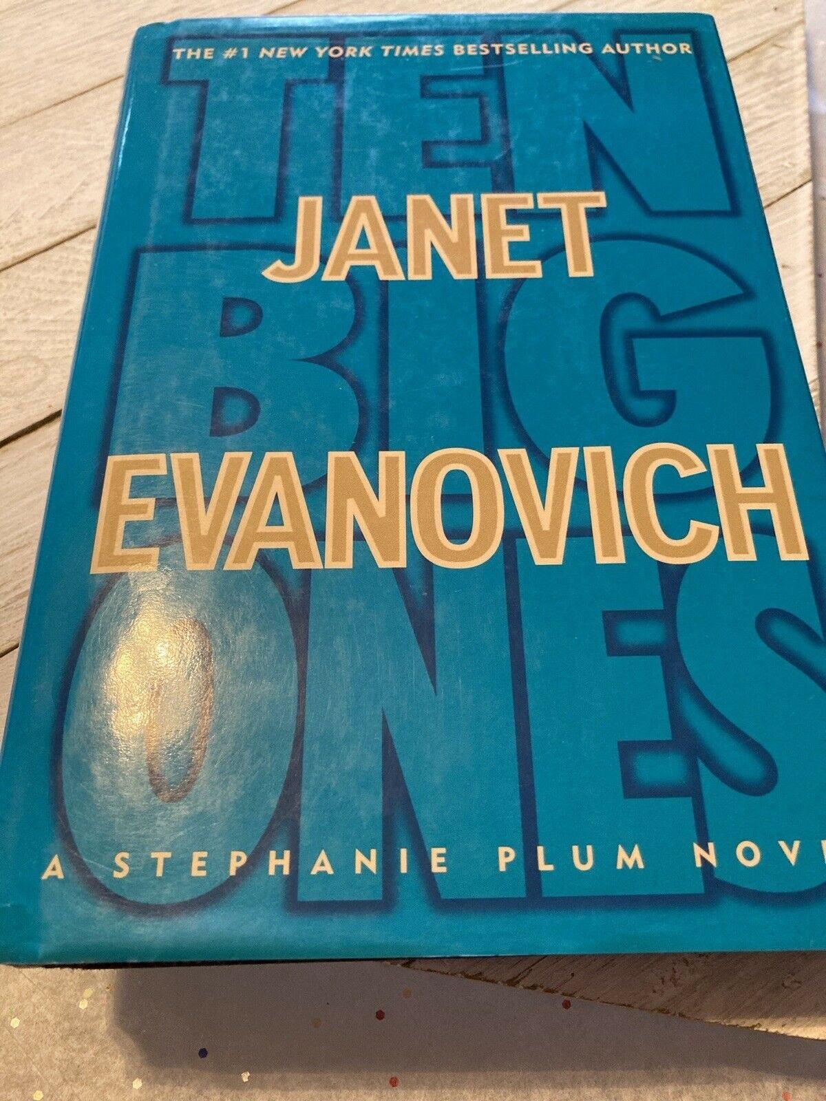 Ten Big Ones  A Stephanie Plum Novel _ JANET EVANOVICH