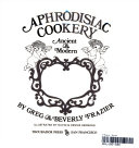 Aphrodisiac Cookery Ancient And Modern _ GREG FRAZIER
