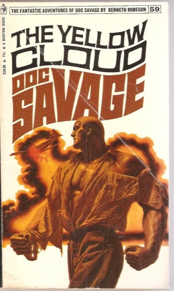 The Yellow Cloud  The Amazing Adventures Of Doc Savage, Book 59 _ KENNETH ROBESON