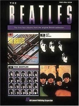 The Beatles The First Four Albums From The Original British Collection _ HAL LEONARD