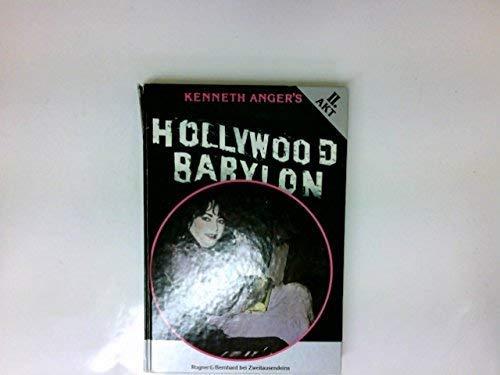 Hollywood Babylon The Legendary Underground Classic Of Hollywoods Darkest And Best Kept Secrets _ KENNETH ANGER