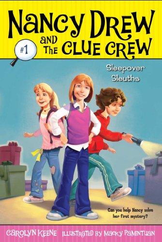 Sleepover Sleuths  Nancy Drew And The Clude Crew _ CAROLYN KEENE