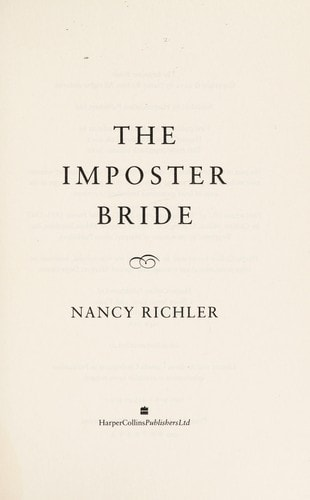 The Imposter Bride _ NANCY RICHLER