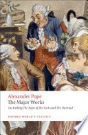 Alexander Pope Selected Poetry And Prose, 2nd Edition _ ALEXANDER POPE