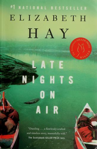 Late Nights On Air _ ELIZABETH HAY