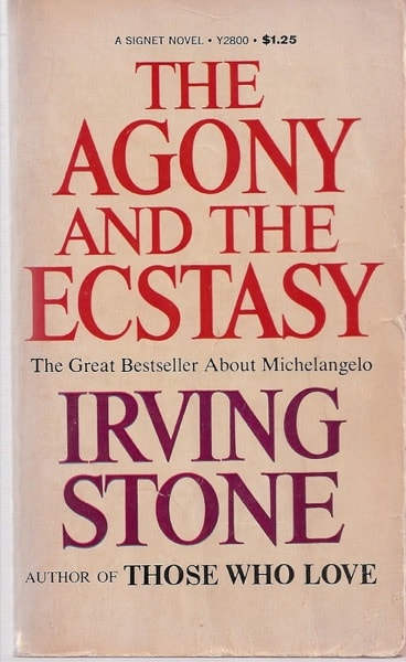 The Agony And The Ecstasy _ IRVING STONE