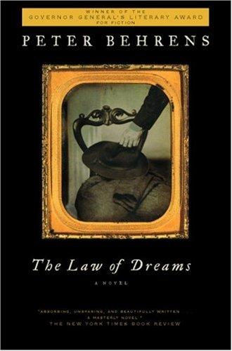 The Law Of Dreams A Novel _ PETER BEHRENS