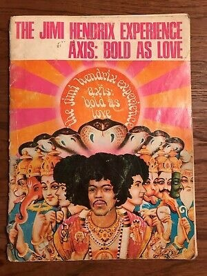 The Jimi Hendrix Experience ~ Axis Bold As Love  Bound Sheet Music _ JIMI HENDRIX