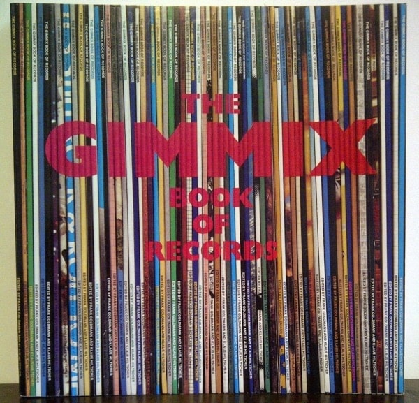 The Gimmix Book Of Records An Almanac Of Unusual Records, Sleeves And Picture Discs _ FRANK GOLDMANN