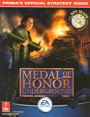 Medal Of Honor Underground Primas Official Strategy Guide _ ALAN BARASCH