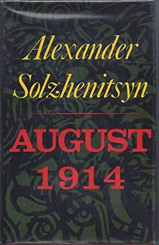 Aug-14 _ ALEXANDER SOLZHENITSYN