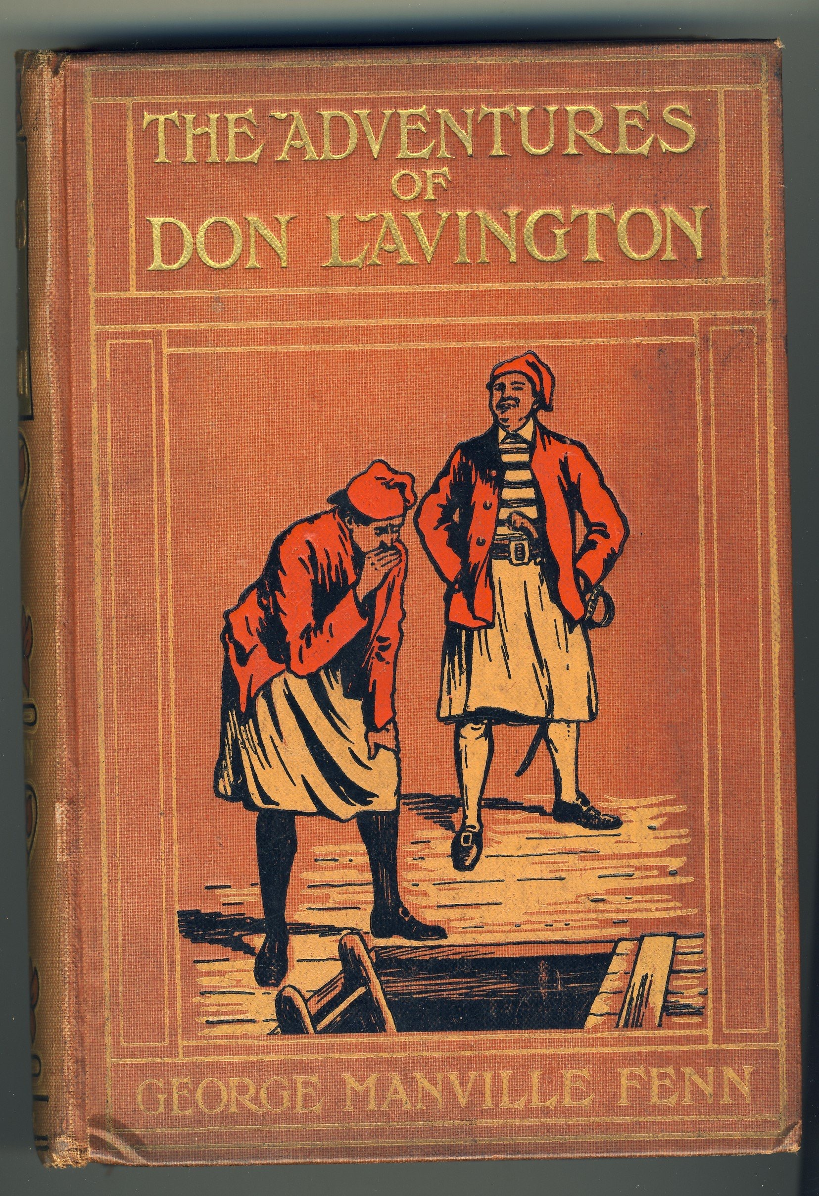 The Adventures Of Don Lavington _ GEORGE FENN