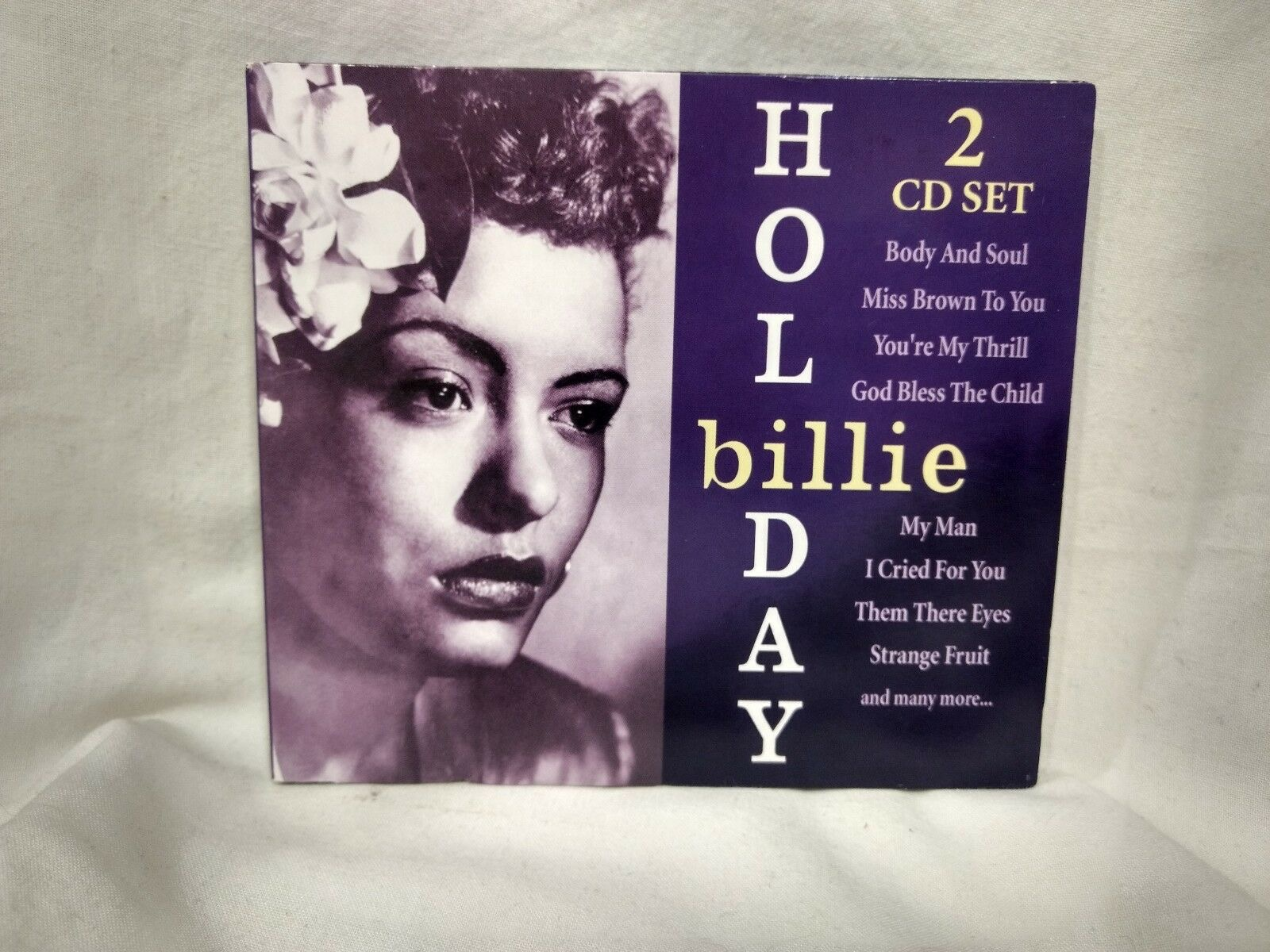 BILLIE HOLIDAY_2 Cd Set