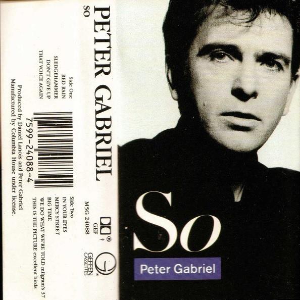PETER GABRIEL_So
