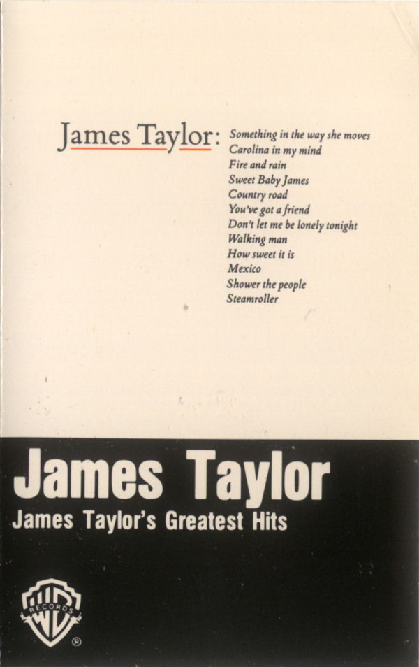 JAMES TAYLOR_James Taylor's Greatest Hits