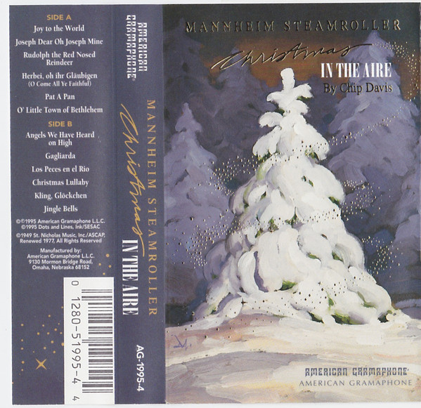 MANNHEIM STEAMROLLER BY CHIP DAVIS_Christmas In The Aire