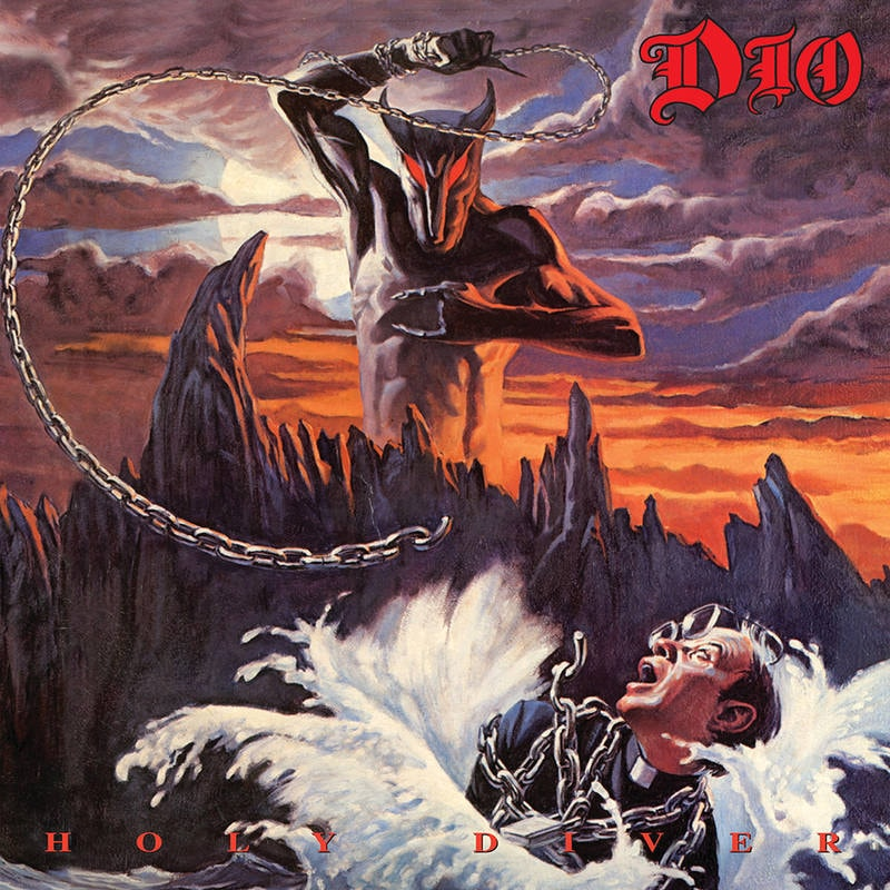 DIO - HOLY DIVER_ (Pre-Order)