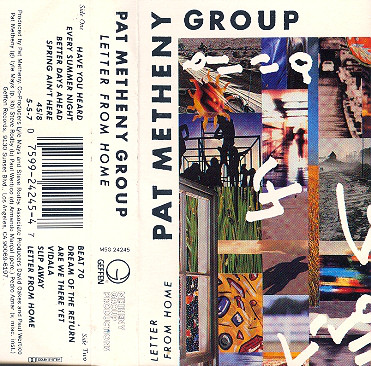 PAT METHENY GROUP_Letter From Home