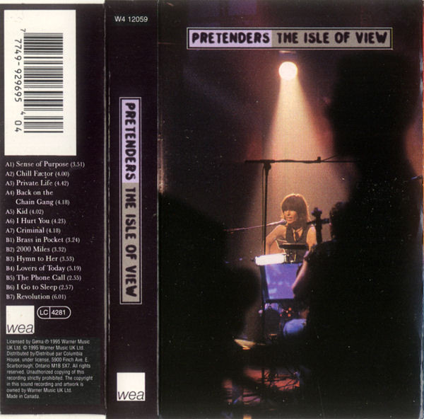 THE PRETENDERS_The Isle Of View