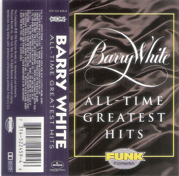 BARRY WHITE_All