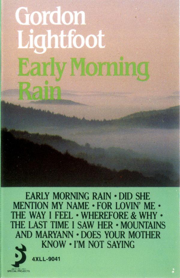 GORDON LIGHTFOOT_Early Morning Rain